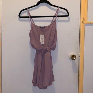 NEW: Fashion Nova lilac romper